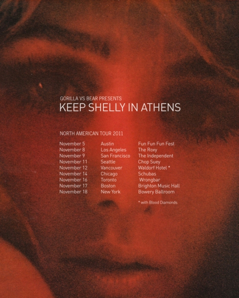 Keep Shelly In Athens Tour