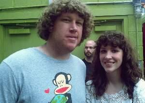 Widowspeak's Molly Hamilton with Jay Armstrong