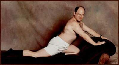 George Constanza Looking Sexy In Underwear